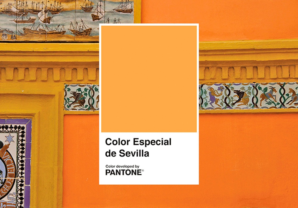 Tanqueray Flor de Sevilla Pantone